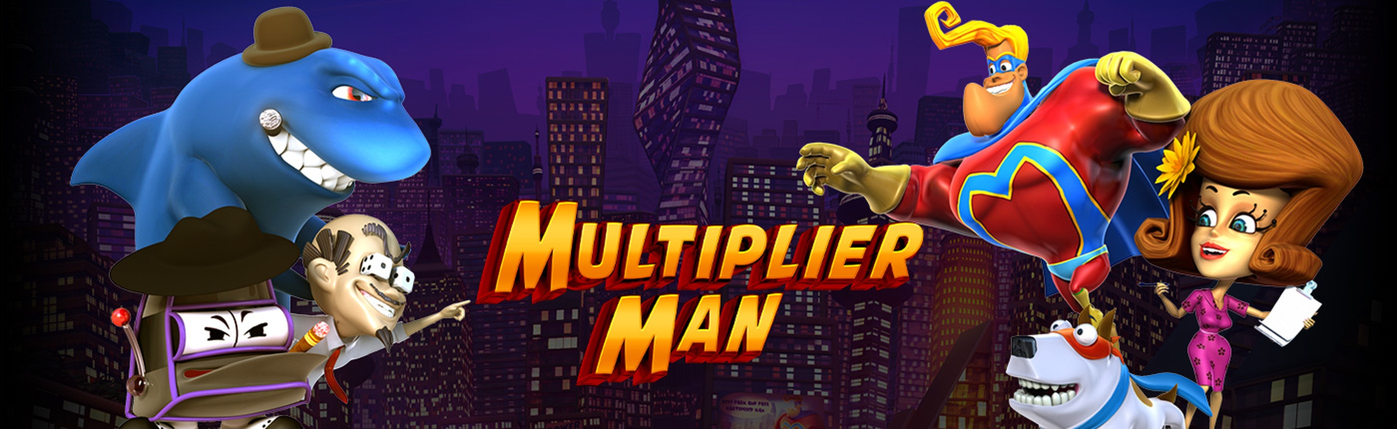 The Multiplier Man Online Slot Demo Game by Revolver Gaming