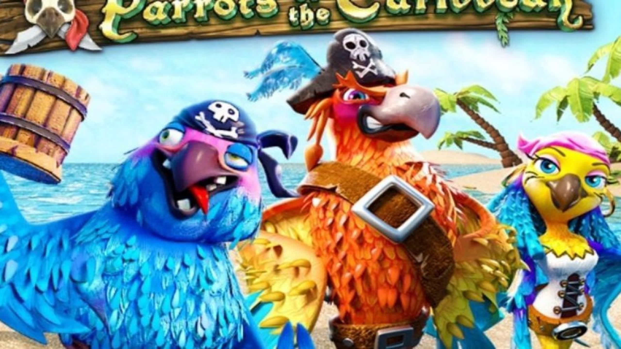 The Parrots of the Caribbean Online Slot Demo Game by Revolver Gaming