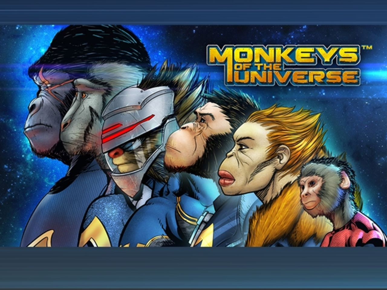 The Monkeys of the Universe Online Slot Demo Game by Stakelogic