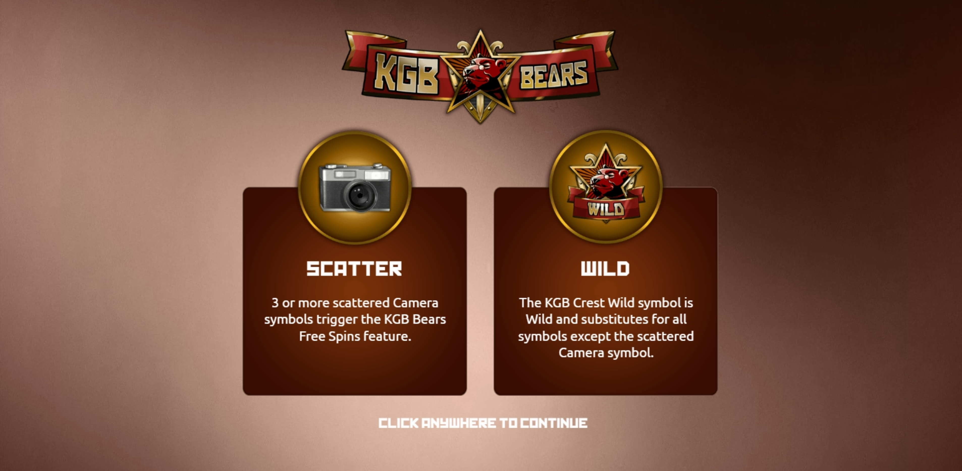 Play KGB Bears Free Casino Slot Game by The Games Company