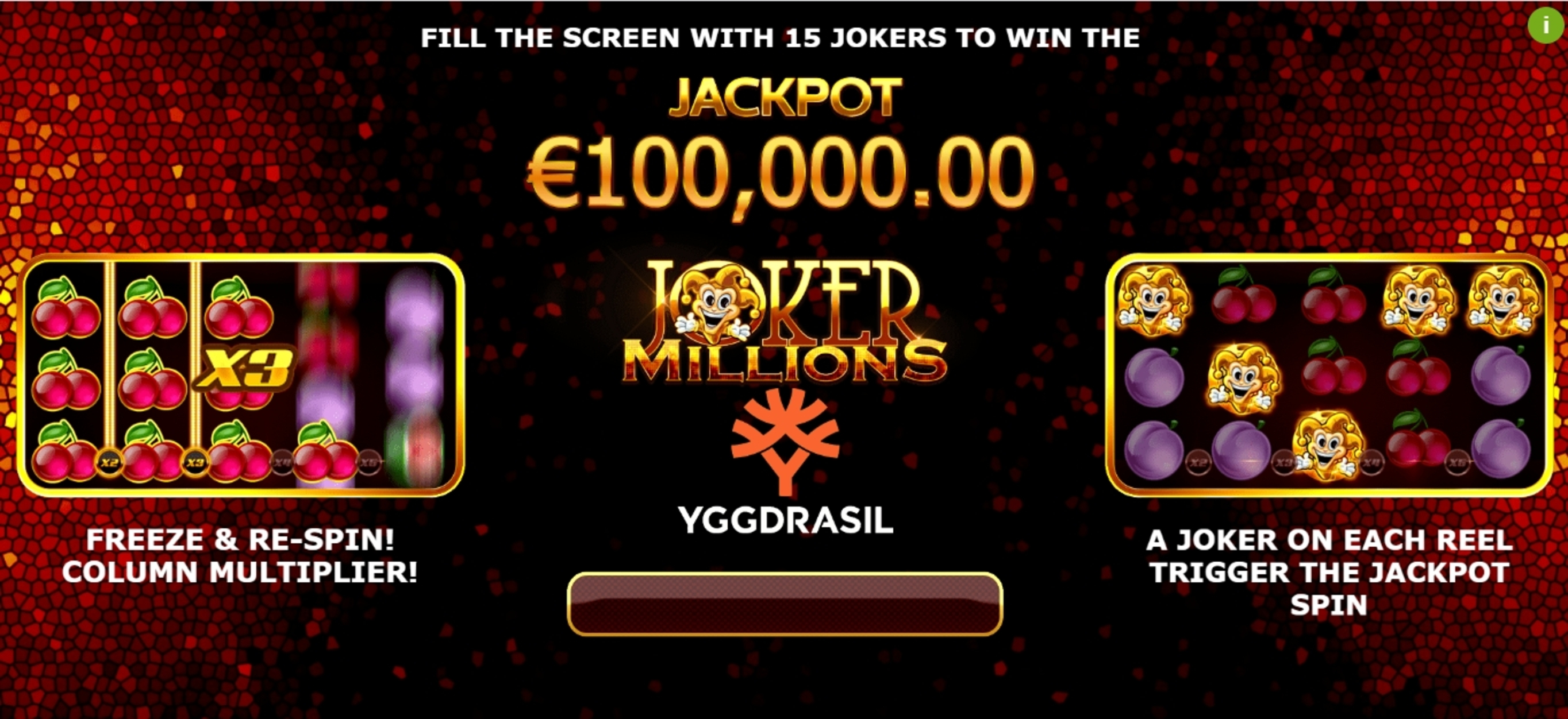 Play Joker Millions Free Casino Slot Game by Yggdrasil